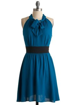 The Teal Deal Dress, #ModCloth  Possible dress for Ralu & Jenny's wedding?...