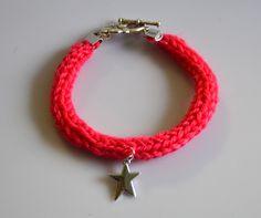 Tuto Bracelet en tricotin pour jolie fée | #étoile #bijou #DIY