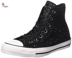 Converse  553137c, Chaussures Multisport Outdoor femme - multicolore - Multicolore (Black Glitter/White/Black), 39 EU EU - Chaussures converse (*Partner-Link)
