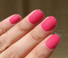 """Texture"" China Glaze tono ""Bump & Grind"" China Glaze, Bump, Texture, Nails, Beauty, Colors, Surface Finish, Finger Nails, Ongles"
