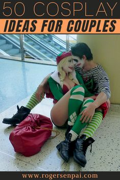 In this post, I have over 50 cosplay ideas for couples that you and your partner can definitely do. Keep in mind that for this list, it doesn't matter which gender you are, your sexual orientation or what type of relationship you're in – you can do any of these cosplays regardless of these things!  #cosplay #cosplayideas #cosplaycouple