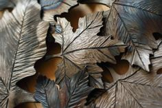 Steel Maple Leaf Clump Chris Spilak/ArtfullyCrooked