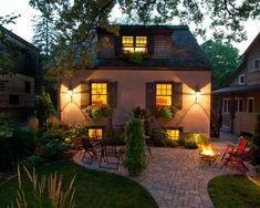 Traditional Patio Courtyard Design, Pictures, Remodel, Decor and Ideas - page 3