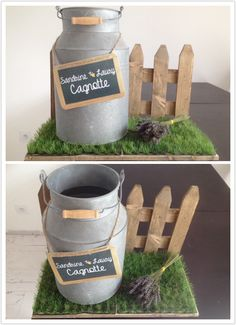 Une cagnotte de mariage champêtre