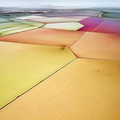 Overwhelmed and inspired by the beautiful photos of salt lakes by @david_burdeny