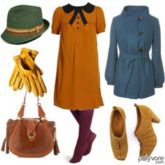 Wes Anderson inspired outfit