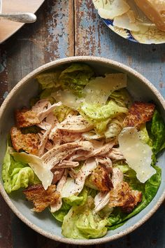 Roast chicken salad from le coq Rico ny times