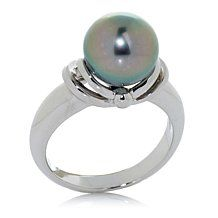 Tara Pearls 9-10mm Cultured Pearl Solitaire Ring