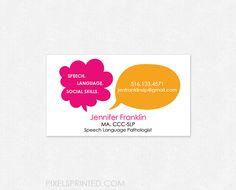 Super speech language pathologist business card pinterest super speech language pathologist business card pinterest business cards and business colourmoves