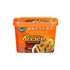 Breyers Blasts! Reese's Peanut Butter Cups Ice Cream 1.5 qt (13 BRL) ❤ liked on Polyvore featuring food and food and drink