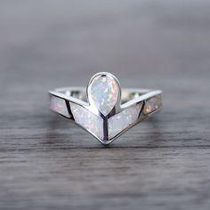 Angel Opal Ring | Tribal | Bohemian Gypsy Jewelry | Boho Festival Jewellery | Hippie Style Fashion | Indie and Harper