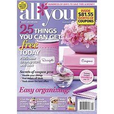 All You Magazine.....LOVE LOVE LOVE this magazine...FULL of great coupons and money savers!!!!