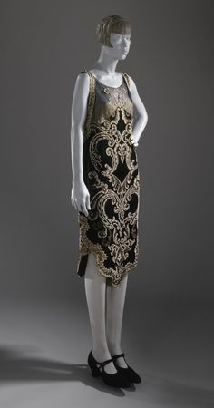 Woman's Evening Dress Callot Soeurs 1926