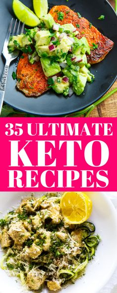 35 ULTIMATE keto recipes to lose weight easily, keto diet ideas, keto diet recipes for beginners. Looking to taste the BEST keto recipes to lose weight faster? These are the ULTIMATE 35 keto recipes for beginners to lose weight. Your whole family will love these ketogenic diet recipes. These keto recipes are healthy and delicious and you will lose weight too. #ketorecipes #keto #ketodietideas #diet #ketodinner #dinnerrecipes #dinner #ketogenic #healthy #recipes #healthyrecipes #lowcarb #diy