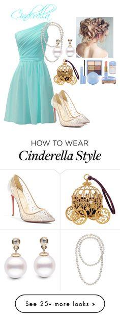 """Cinderella"" by stephanie-barnett on Polyvore featuring Christian Louboutin"