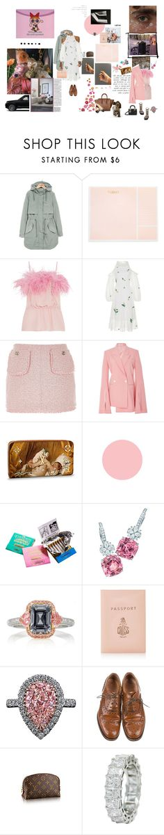 """""""s p a c e"""" by angeladylovely ❤ liked on Polyvore featuring GET LOST, Parka London, Sugar Paper, Prada, Zayan The Label, Christian Dior, River Island, Adeam, Chanel and Tiffany & Co."""