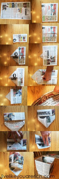 Newspaper Seed Starter Growing Pot | Live Like You Are Rich