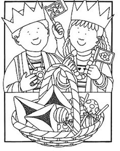 purim game seems funny - Purim Coloring Pages