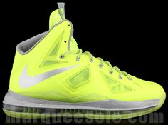 "online store 93605 9205d Preview  Nike LeBron X ""Dunkmanâ€. Youth Basketball ShoesNike ..."
