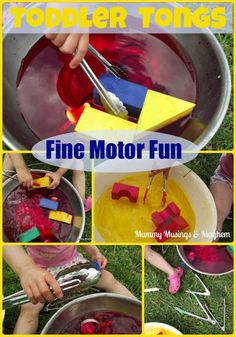 Toddler fine motor play