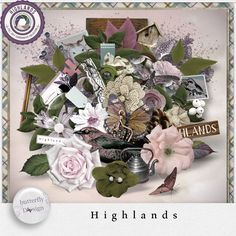 Digital Art :: Kits :: Highlands [Page Kit] by butterflyDsign