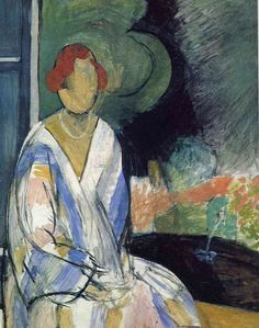 Henri Matisse ~ Woman at the Fountain, 1917