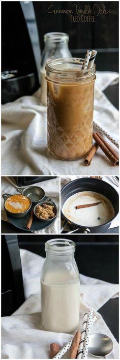 Cinnamon Vanilla Dolce Iced Coffee