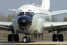 【RC-135V/W Rivet Joint】Boeing RC-135W (717-158) aircraft picture
