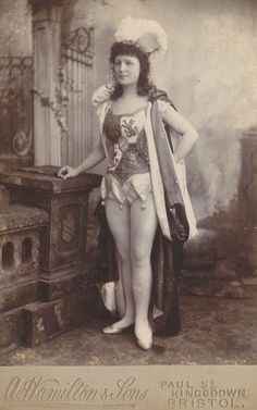 Unknown performer from Barnum & Bailey Circus, 1898
