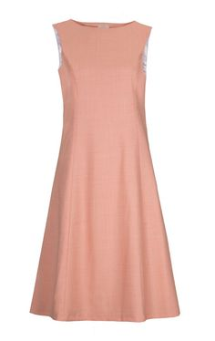 Dress Ginger - loos great with silver grey - perfect summer color Shop for it http://www.classycuts.de/en/Kleider/19/Shift-Dress-Ginger/151/Peach/