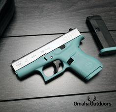 380 Tiffany Blue Glock.