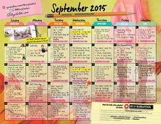 Your September Workout Plan!