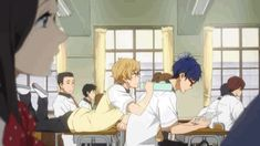 I just love how everyone in class doesn't give a frick what Nagisa does as long as he bothers the hell out of Rei and only Rei <-- lol