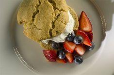 Strawberry Shortcake made with almond flour from @nutsdotcom #almondflour #strawberry