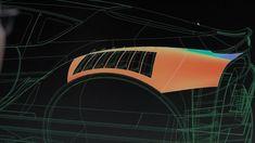 Toyota FT-1 Concept - CAD screenshot