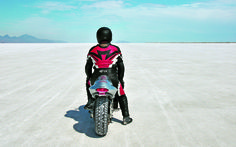 The BUB Motorcycle Speed Trials at Bonneville. Featured in the March 2013 issue of Rider magazine.