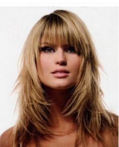 Fringe hairstyles long hair