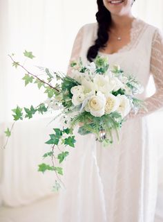 Black + White Dos Pueblos Ranch Wedding: http://www.stylemepretty.com/2015/10/08/black-white-dos-pueblos-ranch-wedding/ | Photography: Jose Villa - http://josevilla.com/