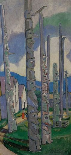 I love 19th century Canadian artist Emily Carr!