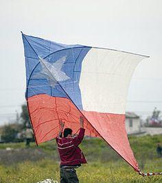 Juegos típicos de Chile elevar Volantines // Typical Chilean Games raise Volantines