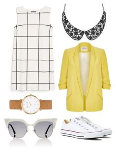 """""""Untitled #267"""" by bandsdestroyamylife on Polyvore featuring Converse, MANGO, Abbott Lyon, River Island and Fendi"""