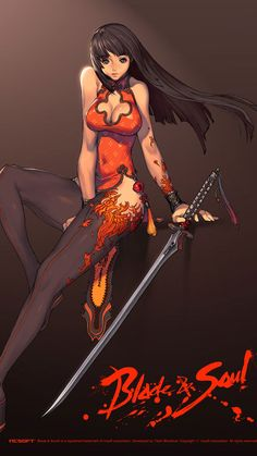 Blade and Soul concept art by Kim Hyung Tae (NCSoft) #scifi - Stylendesigns.com!