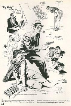 Alex Raymond  1948 1000×1480 пикс