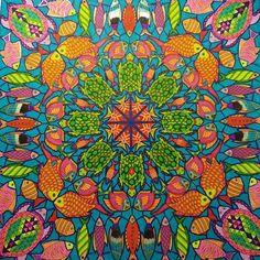 #Lostocean page 4-Square Turtle Mandala