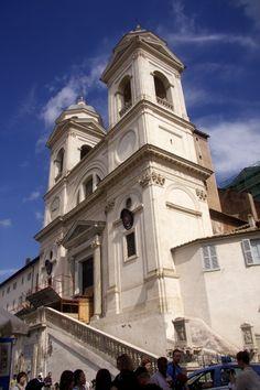Church of Trinita dei Monti - Rome, Italy