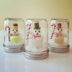 Retro Snowman Mason Jar Chrsitmas Decoration by AJarMpls, $16.00