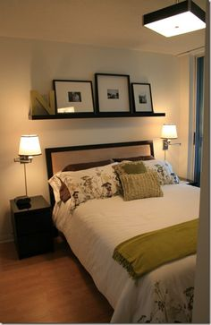 Over The Bed Decor how to: make your bed like the hotels do! | made2make | pinterest