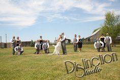 Wedding Photography by #DistinctionStudio  Wedding Photo ideas Spokane Washington Country wedding rustic charm bride and groom