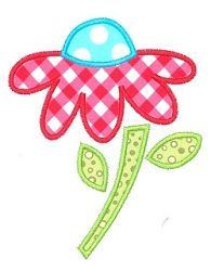 Sweet Daisy Flower Applique - 3 Sizes! | Spring | Machine Embroidery Designs | SWAKembroidery.com Kimberbell Kids