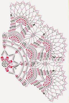 36 Trendy Ideas For Crochet Edging Patterns Free Ganchillo Crochet Edging Patterns Free, Crochet Doily Diagram, Crochet Mandala Pattern, Crochet Lace Edging, Crochet Doily Patterns, Crochet Chart, Thread Crochet, Free Crochet, Free Pattern
